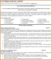 Call Center Skills Resume Manager