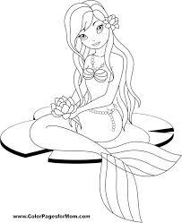 Mermaid Coloring Page 30