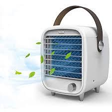 mixigoo mini luftkühler 4 in 1 tragber mobile klimageräte luftreiniger usb ventilator mit led nachtlicht 3 kühlstufen klimaanlage air cooler für