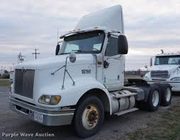 2005 International 9200i Semi Truck | Item DB0282 | SOLD! De... Retirement Farm Auction Van Adkisson Service Llc Truck And Trailer In Garden City Kansas By Purple Wave Topeka Semi Trucks Advantage Customs Lot Of 3 T512 Davenport 2016 1988 Volvo Wia Semi Truck For Sale Sold At Auction July 22 2014 North State Auctions Bank Repo Sale Of 2002 Kenworth Gmc Astro Cabover Sold May 4 Purplewave Inc Old Trucks Some More Old Ol Pinterest New Used Sales From Sa Dealers Matson Equipment Company Spokane Wa
