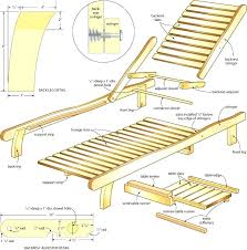free woodworking plans chaise lounge ideas free wood chaise lounge
