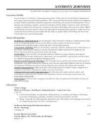 Resume Templates Entry Level Healthcare Administrator