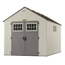 Suncast Horizontal Storage Shed 32 Cu Ft by Shop Sheds At Lowes Com
