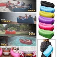 canap hamac grande taille plage portable en plein air gonflable os meubles