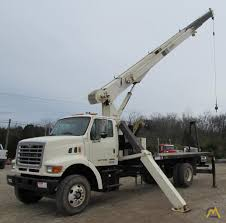 100 Boom Truck 18t National 600D Crane SOLD S Material Handlers