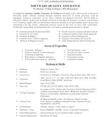 Quality Assurance Resume Examples Sample Download Tester Manager