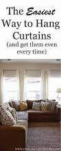 Macy Curtains For Living Room Malaysia by Best 25 Hanging Curtain Rods Ideas On Pinterest How To Hang