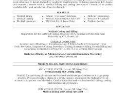 Objective For Medical Billing Resume Biller