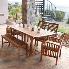 Remarkable Wood Patio Table And Chairs Fascinating Outdoor ...