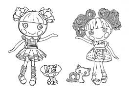 Printable Lalaloopsy Coloring Pages Free