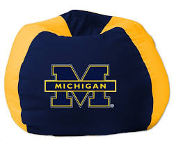 College NCAA Bean Bag Chair NCAA Team: Michigan The Radical History Of The Beanbag Chair Architectural Digest Giant Bean Bag 7 Foot Xxl Fuf In And 50 Similar Items How To Make College Fniture Work An Adult Apartment Best 2019 Your Digs Large Details About Black Dorm New Faux Suede 8foot Lounge Decorate Pink Loccie Better Homes Gardens Ideas Amazoncom Ahh Products Cuddle Minky White Washable