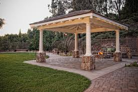 Free Standing Wood Tellis Patio Covers Gallery Western Outdoor