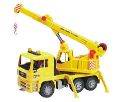Bruder Toys MAN Crane Truck | Gifts For Kids Obsessed With Trucks ...