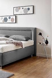 westfalia schlafkomfort boxspringbett mit zierkissen und