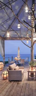 Patio Ideas Beach Themed Furniture Decor Outdoor Seating Area