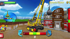 LEGO Police. Police Car. Fire Truck. Cartoon About LEGO - LEGO Game ...