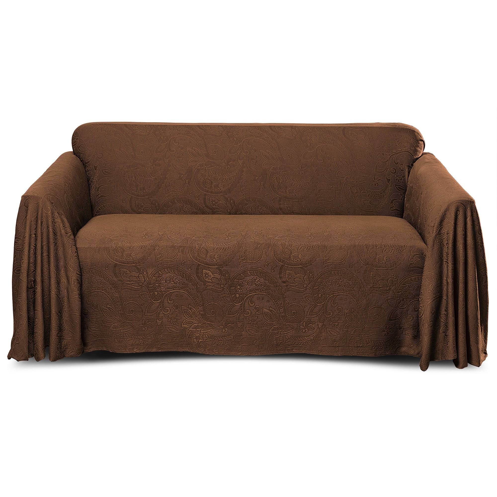 Stylemaster Alexandria Furniture Throw, Sofa, Chocolate