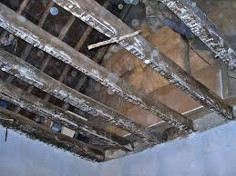 problème maçonnerie couler une dalle béton allégé sur des poutres