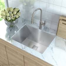 Stainless Steel Utility Sink With Drainboard by Stainless Steel Kitchen Sinks Kraususa Com