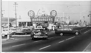 Christmas Tree Lane Fresno Ca History by First Mcdonalds Restaurant In Fresno Ca Blackstone U0026 Shields