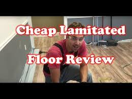 Review of Lakeshore Pecan $0 79 SF Cheap Laminated Flooring