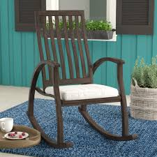 Winston Porter Labarre Outdoor Rocking Chair & Reviews | Wayfair Allweather Porch Rocker Personalized Childs Rocking Chair Seventh Avenue Shop Safavieh Shasta White Wash Grey Acacia Wood On Kentucky Wildcats Painted In Blue And Am Modernist Upholstery Dark Waffle Cushion Pad Set Glaze Pine Adirondack Trex Outdoor Fniture Recycled Plastic Yacht Club Chalk Paint Decor Ideas Design Newest 3 Wooden Chairs In Red And Color Stock Violet Upholstered Fuzziecouch