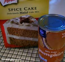 Pumpkin And Cake Mix Weight Watchers by Pumpkin Spice Cookies