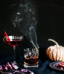 Headless Horseman Pumpkin Spice Whiskey by Weekend Toast Halloween Cocktail Recipes Sleepy Hollow