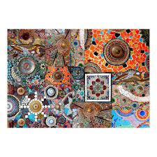 vlies fototapete 3d mosaik keramik glas bunt tapete