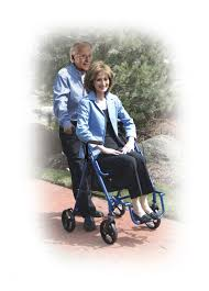 Bariatric Transport Chair 24 Seat by Drive Duet Rollator Transport Chair