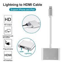 Lighting to HDMI Adapter Cable Lightning Digital AV Adapter for
