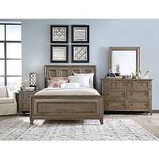 talbot driftwood collection master bedroom bedrooms art van