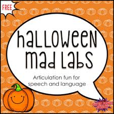 Halloween Mad Libs Esl by Halloween Mad Labs For Speech By Super Power Speech Tpt