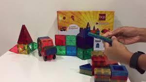Picasso Magnetic Tiles Vs Magna Tiles by Best Choice 3d Magnetic Building Blocks Youtube