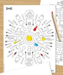 Ikea Coloring Book Adult
