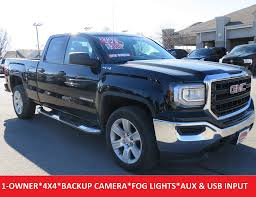 2016 Used GMC Sierra 1500 Double Cab 4x4 20