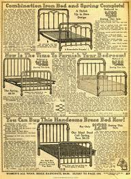 Roll Away Beds Sears by 1914 Sears Household Catalog Bed Frames Early 20th Century