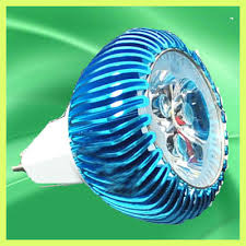 blue mr16 3 led light studio bulb l spotlight 3w 12v