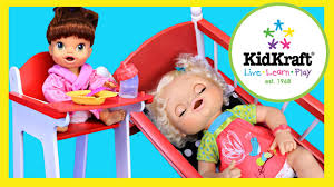 Baby Alive Doll Furniture With A Crib & Wooden High Chair By KidKraft Kids  Toys Childrens Kids Girls Pink 3in1 Baby Doll Pretend Role Play Cradle Cot Bed Crib High Chair Push Pram Set Fityle Foldable Toddler Carrier Playset For Reborn Mellchan Dolls Accsories Olivia39s Little World Fniture Lifetime Toy Bundle Pepperonz Of 8 New Born Assorted 5 Mini Stroller Car Seat Bath Potty Swing Others Cute Badger Basket For Room Ideas American Girl Bitty Favorites Chaingtable Washer Dryerchaing Video Price In Kmart Plastic My Very Own Nursery Olivias And Sets Ana White The Aldi Wooden Toys Are Back Today The Range Is Better Than Ever Baby Crib Sink High Chair Playset