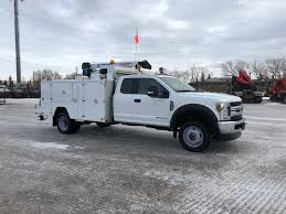 100 Service Truck 2018 Ford F550 Unused Red Ram Sales Ltd Edmonton