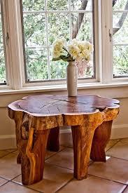 deco tronc d arbre fabriquer table en tronc d arbre bricobistro tronc arbre