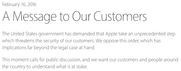 Tim Cook Apple Won t Create Backdoor to Help FBI Access San