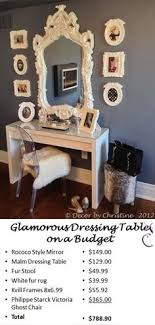 How To Create A Glamorous Dressing Area With IKEA