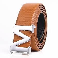 Designer Belts Men High Quality M Buckle Mens Belt Luxury Belts
