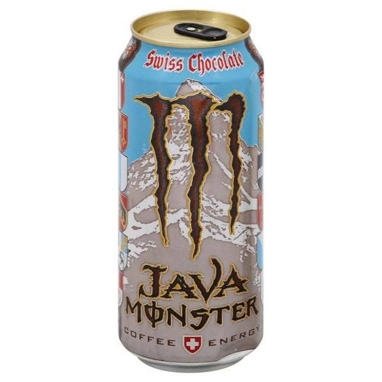 Monster Java Energy Drink, Coffee + Energy, Swiss Chocolate - 15 fl oz
