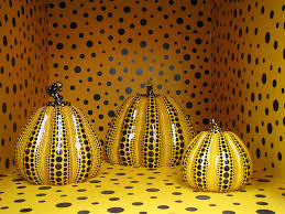 Yayoi Kusama Pumpkin by Yayoi Kusama Yayoi Kusama Because I Wish I Did This First