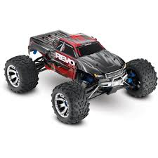 Traxxas 53097-3-RED: Revo 3.3 Nitro 4WD Truck Fully Assembled ... Tra560864blue Traxxas Erevo Rtr 4wd Brushless Monster Truck Custom Jam Bodies The Enigma Behind Grinder Advance Auto 2wd Bigfoot Summit Silver Or Firestone Blue Rc Hobby Pro 116 Grave Digger New Car Action Stampede Vxl 110 Tra36076 4x4 Ripit Trucks Fancing Sonuva Rcnewzcom Truck Grave Digger Clipart Clipartpost Skully Fordham Hobbies 30th Anniversary Scale Jual W Tqi 24ghz
