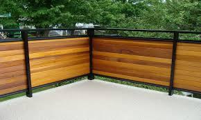 Horizontal Deck Railing Ideas by Wood Deck Ideas Horizontal Privacy Deck Railing Ideas Deck