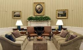 Christopher Spitzmiller Table Lamps by White House Oval Office Gets Redecorated Lamps Plus