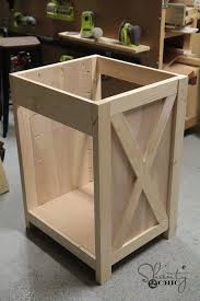how to build a bathroom vanity homemade bathroom cabinet building